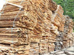 材料となる木材