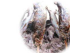ヤマメの塩焼き